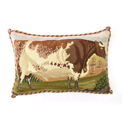 Shorthorn Ox Needlepoint Kit Elizabeth Bradley Design