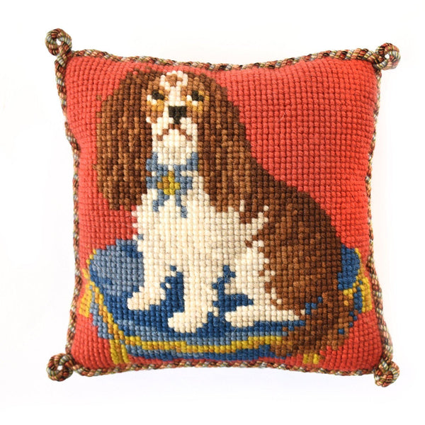 Spaniel Puppy Mini Kit Needlepoint Kit Elizabeth Bradley Design