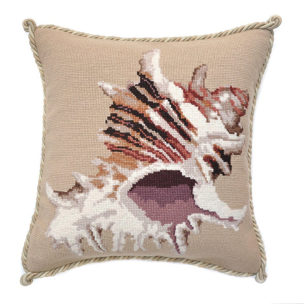 Spiky Conch Needlepoint Kit Elizabeth Bradley Design