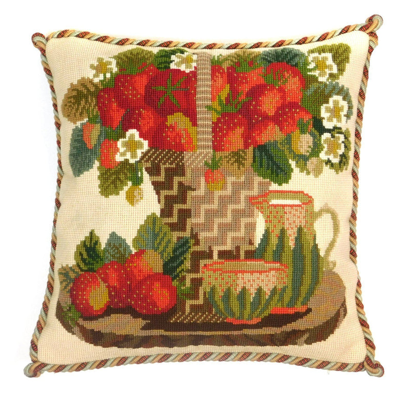 Strawberries Needlepoint Kit Elizabeth Bradley Design
