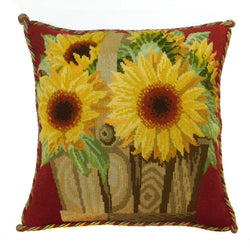 Sunflower Basket Needlepoint Kit Elizabeth Bradley Design