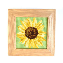 Sunflower Mini Kit Needlepoint Kit Elizabeth Bradley Design