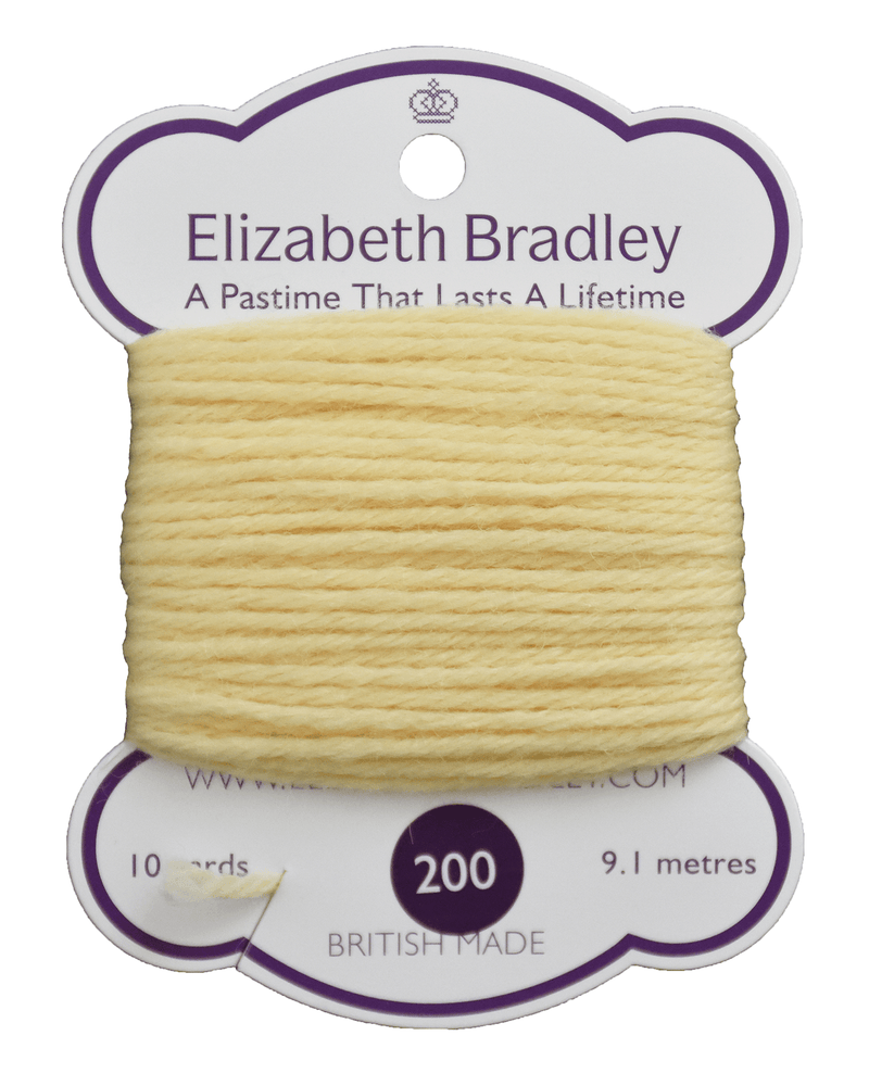 Tapestry Wool Colour 200 Tapestry Wool Elizabeth Bradley Design