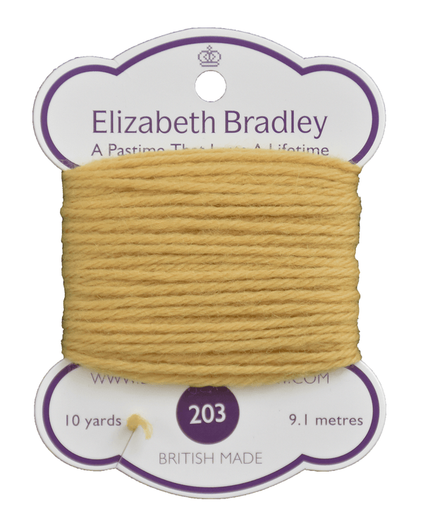 Tapestry Wool Colour 203 Tapestry Wool Elizabeth Bradley Design