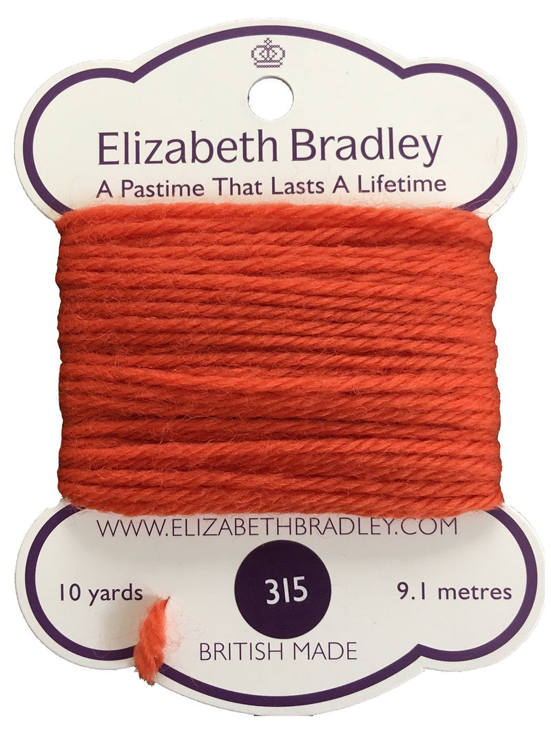 Tapestry Wool Colour 315 Tapestry Wool Elizabeth Bradley Design
