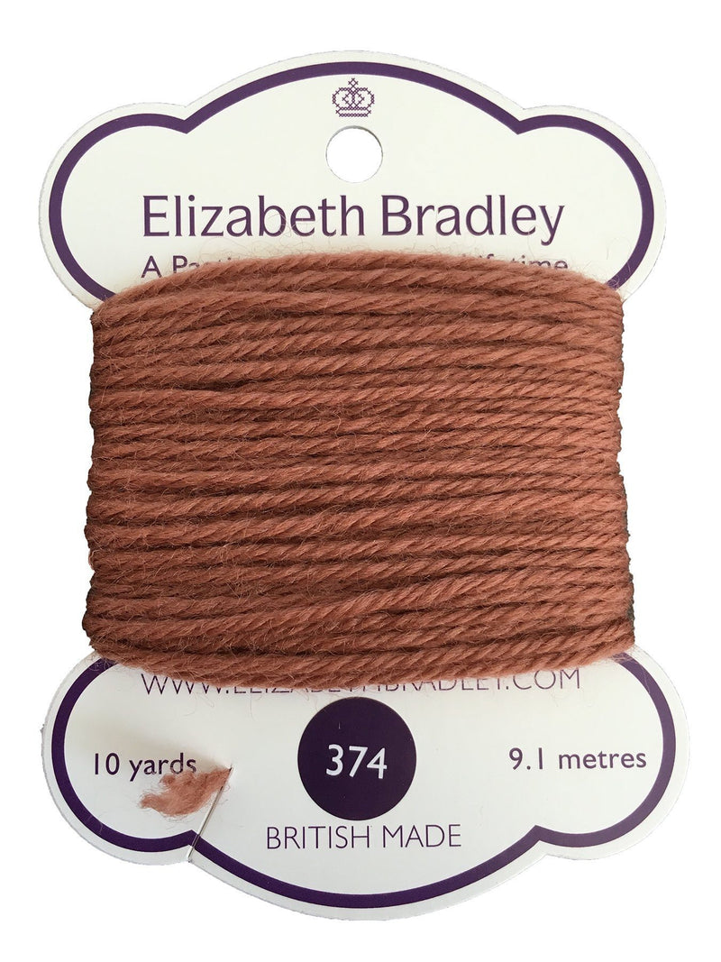 Tapestry Wool Colour 374 Tapestry Wool Elizabeth Bradley Design