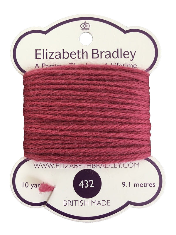 Tapestry Wool Colour 432 Tapestry Wool Elizabeth Bradley Design