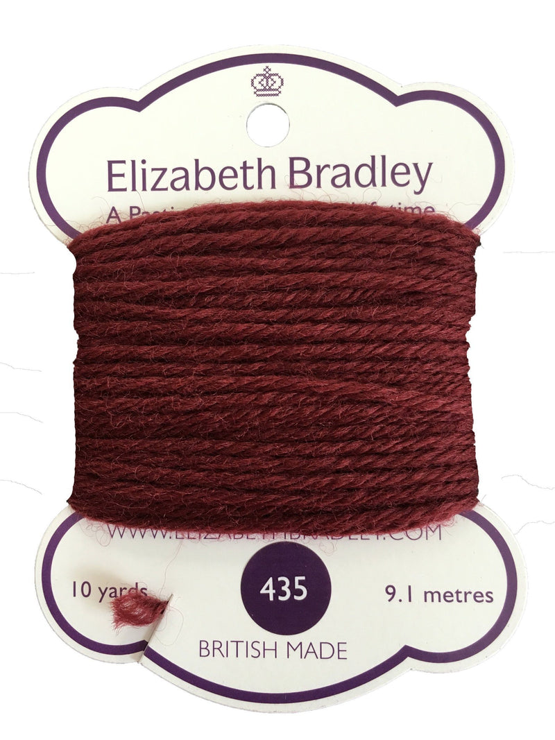 Tapestry Wool Colour 435 Tapestry Wool Elizabeth Bradley Design