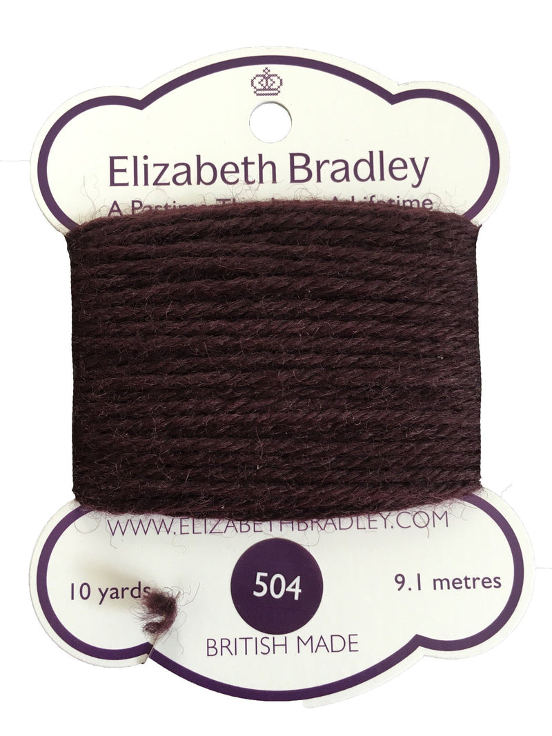 Tapestry Wool Colour 504 Tapestry Wool Elizabeth Bradley Design