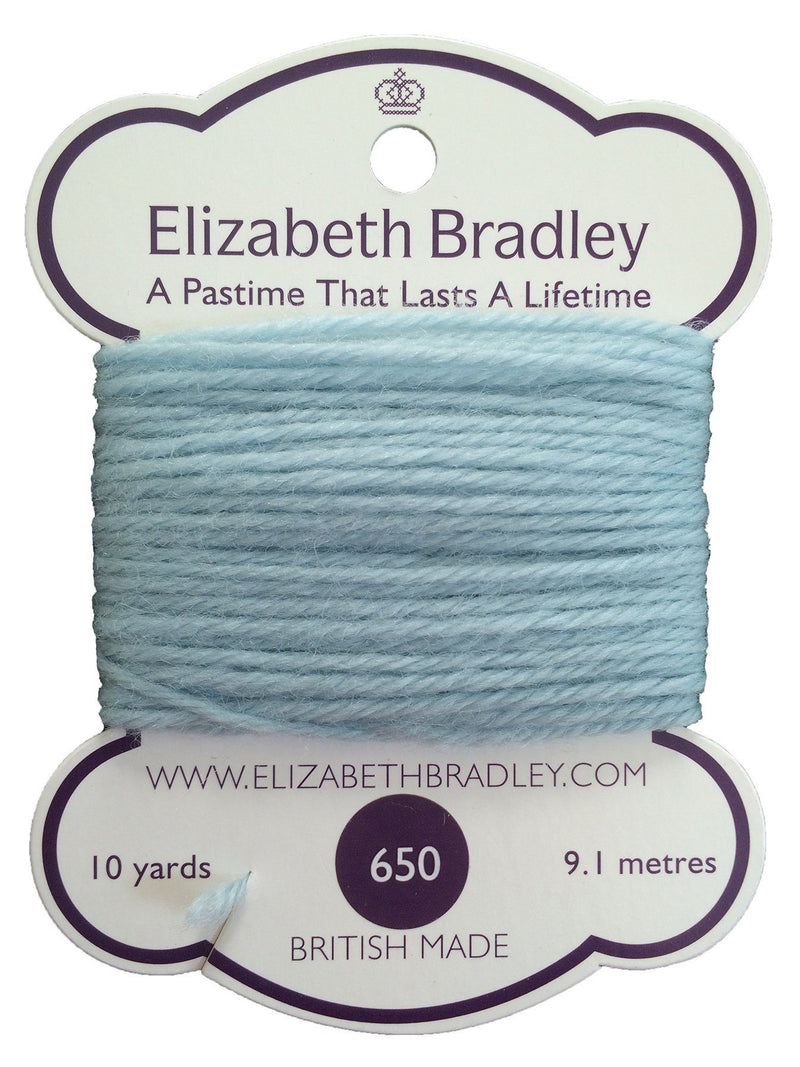Tapestry Wool Colour 650 Tapestry Wool Elizabeth Bradley Design
