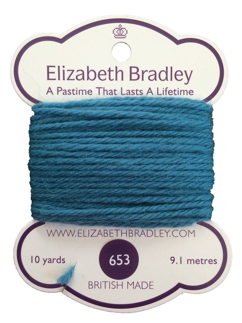 Tapestry Wool Colour 653 Tapestry Wool Elizabeth Bradley Design