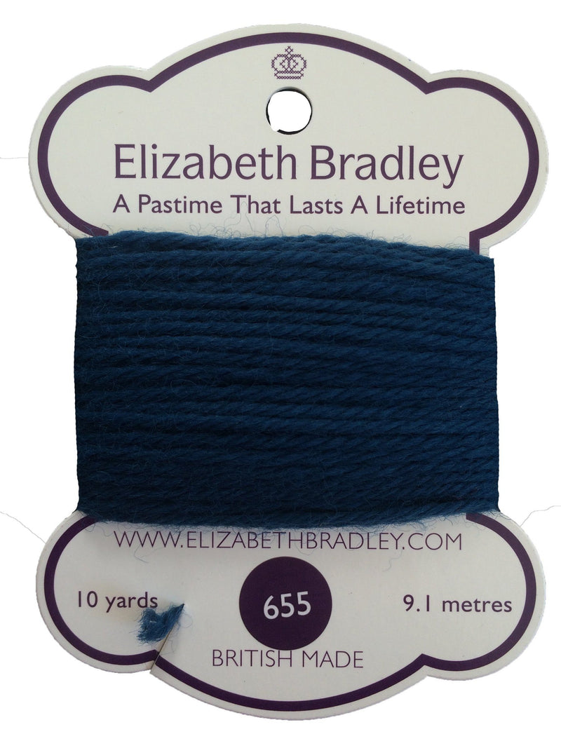 Tapestry Wool Colour 655 Tapestry Wool Elizabeth Bradley Design