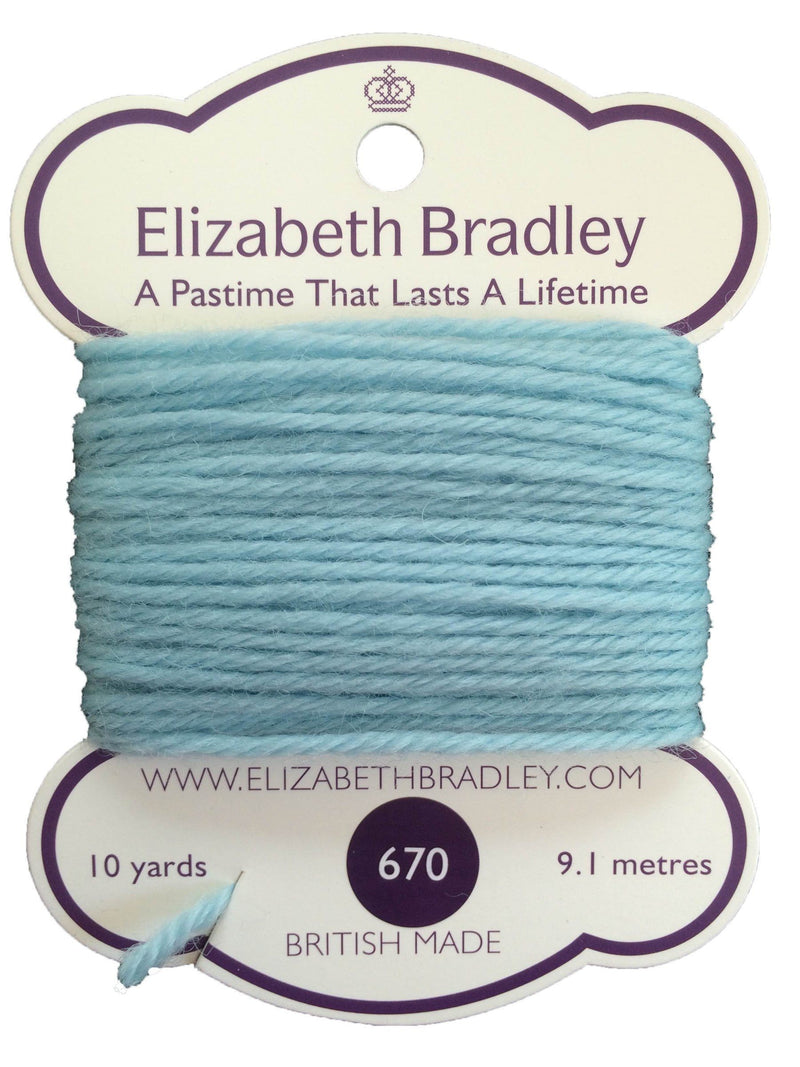 Tapestry Wool Colour 670 Tapestry Wool Elizabeth Bradley Design