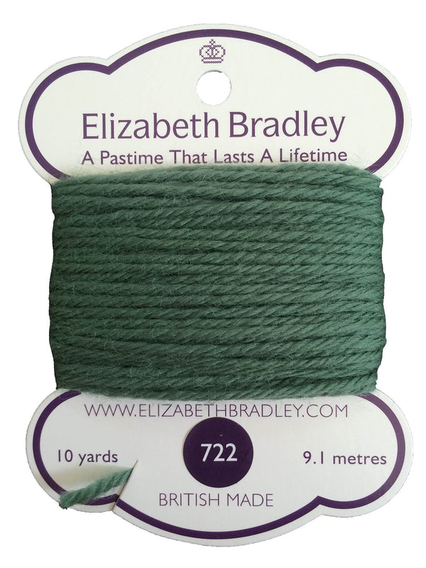 Tapestry Wool Colour 722 Tapestry Wool Elizabeth Bradley Design