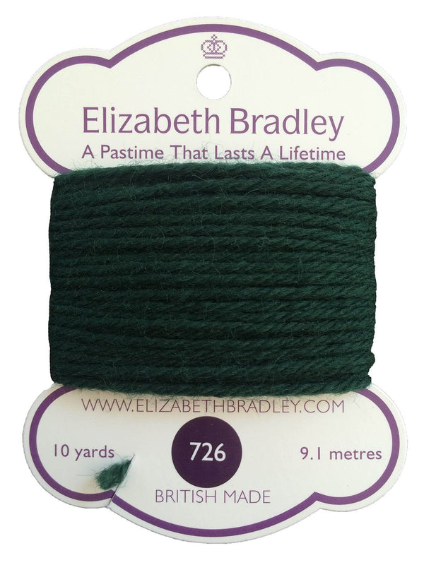 Tapestry Wool Colour 726 Tapestry Wool Elizabeth Bradley Design