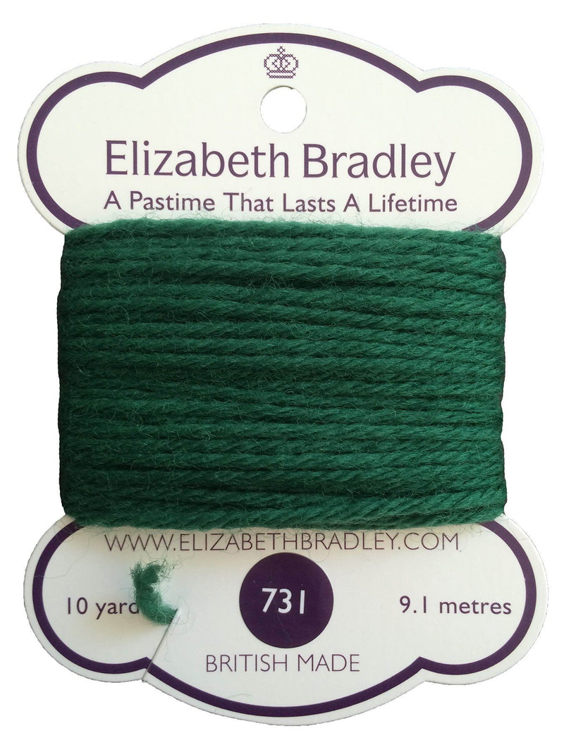 Tapestry Wool Colour 731 Tapestry Wool Elizabeth Bradley Design