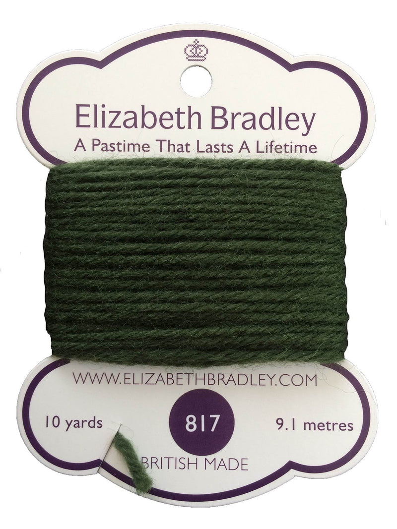 Tapestry Wool Colour 817 Tapestry Wool Elizabeth Bradley Design