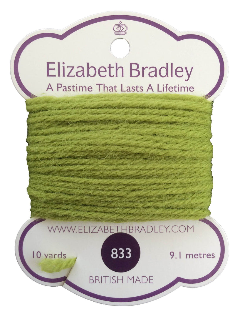 Tapestry Wool Colour 833 Tapestry Wool Elizabeth Bradley Design