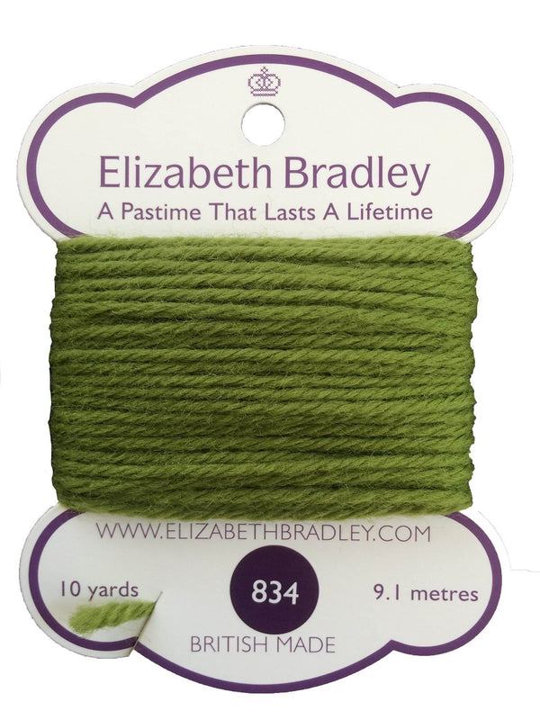 Tapestry Wool Colour 834 Tapestry Wool Elizabeth Bradley Design