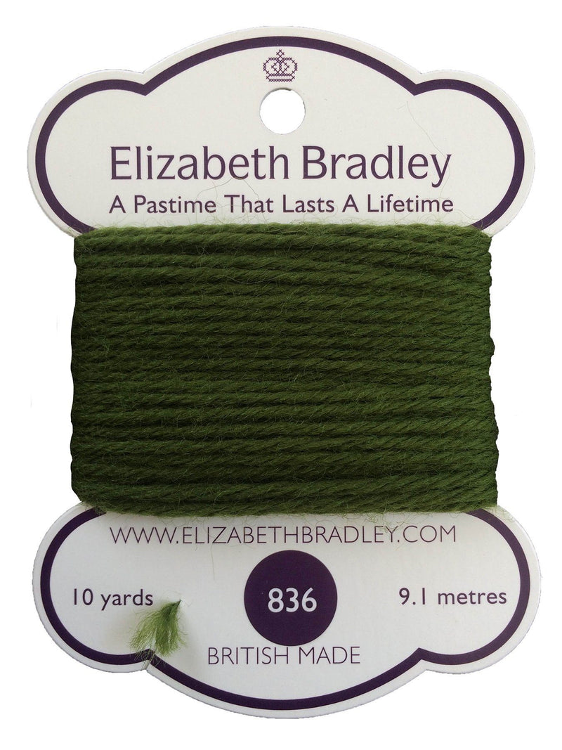 Tapestry Wool Colour 836 Tapestry Wool Elizabeth Bradley Design