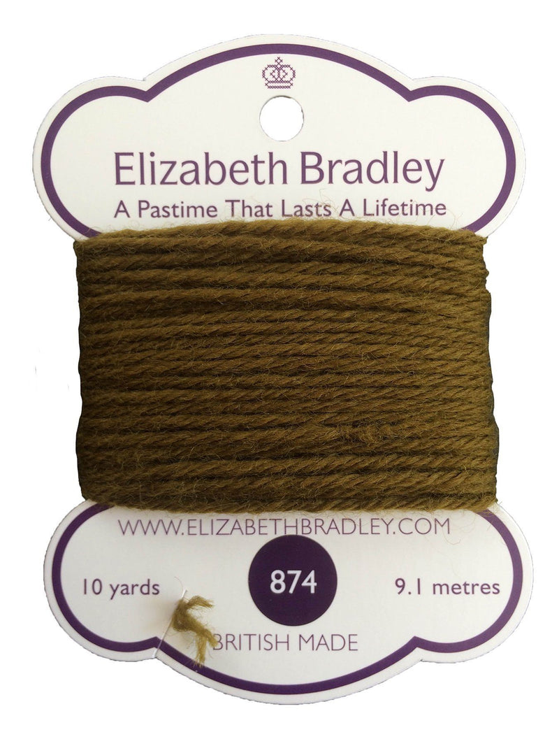 Tapestry Wool Colour 874 Tapestry Wool Elizabeth Bradley Design