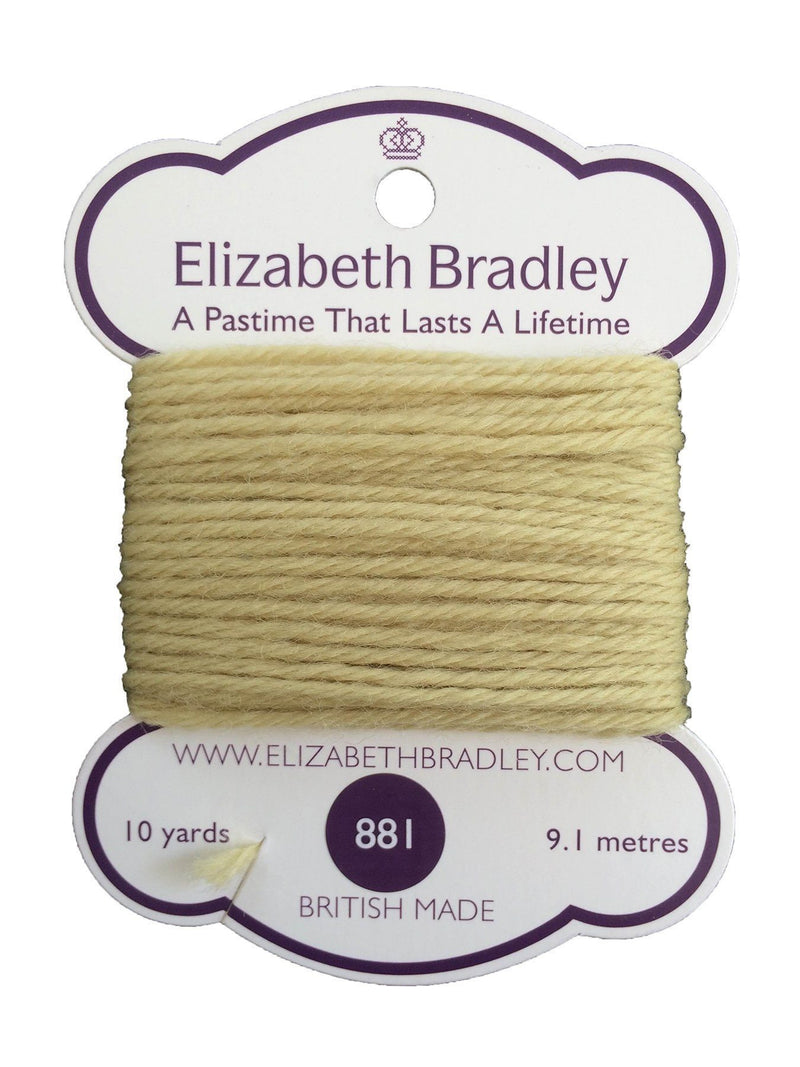 Tapestry Wool Colour 881 Tapestry Wool Elizabeth Bradley Design