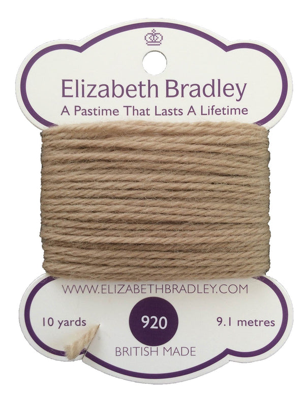 Tapestry Wool Colour 920 Tapestry Wool Elizabeth Bradley Design