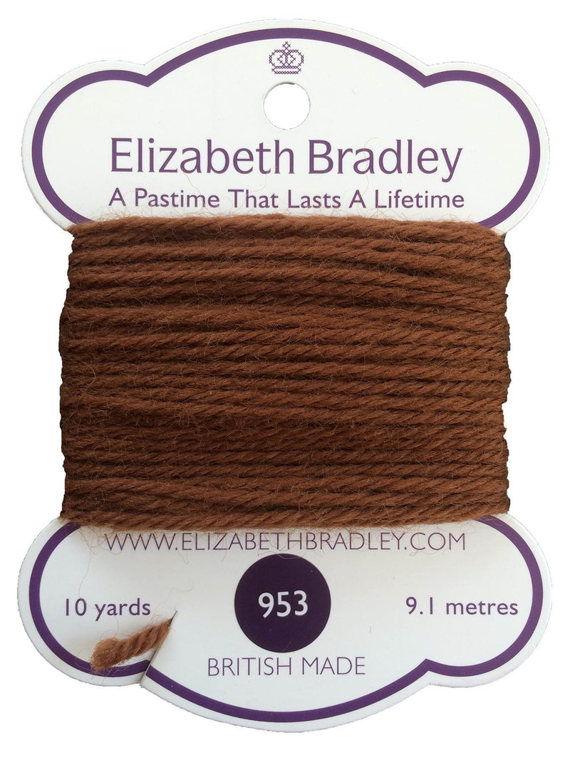 Tapestry Wool Colour 953 Tapestry Wool Elizabeth Bradley Design