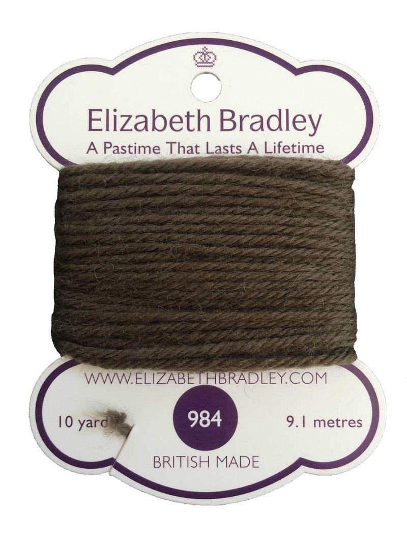 Tapestry Wool Colour 984 Tapestry Wool Elizabeth Bradley Design