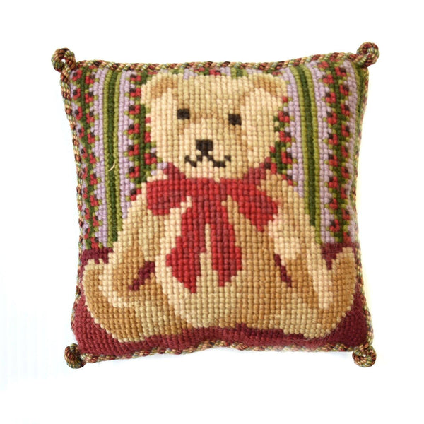 Teddy Bear Mini Kit Needlepoint Kit Elizabeth Bradley Design