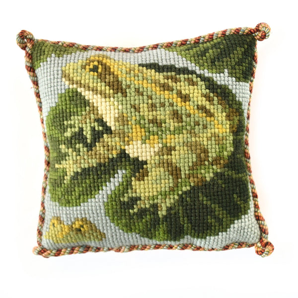 The Frogs Mini Kit Needlepoint Kit Elizabeth Bradley Design