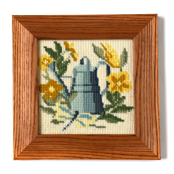 The Gardener Mini Kit Needlepoint Kit Elizabeth Bradley Design