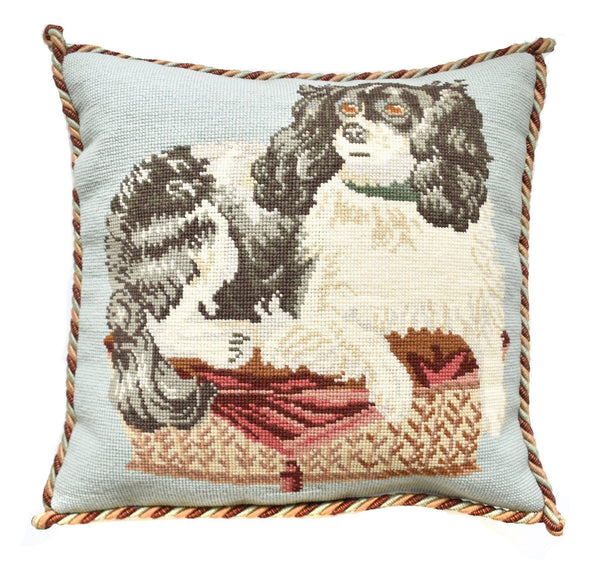 The King Charles Spaniel Needlepoint Kit Elizabeth Bradley Design
