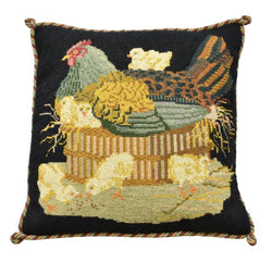 The Mother Hen Needlepoint Kit Elizabeth Bradley Design