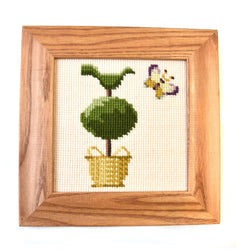 Topiary Tree Mini Kit Needlepoint Kit Elizabeth Bradley Design