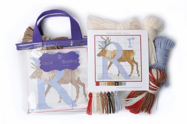 W-Wallaby Needlepoint Kit Elizabeth Bradley Design