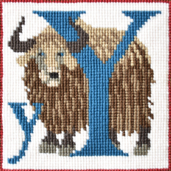 Y-Yak Needlepoint Kit Elizabeth Bradley Design