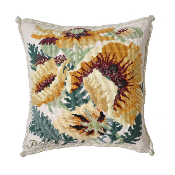Yellow Poppy Needlepoint Kit Elizabeth Bradley Design