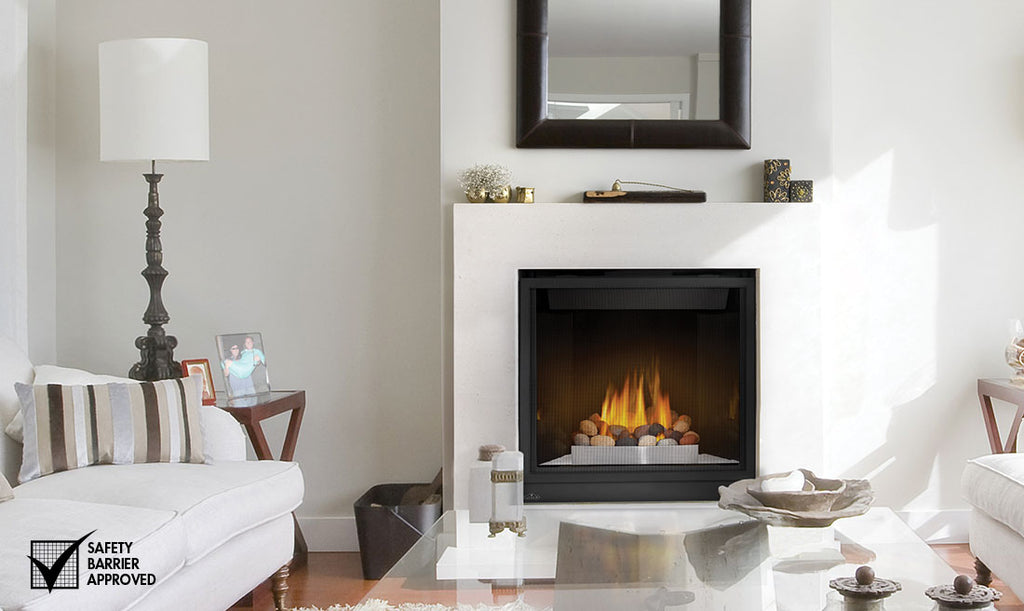 "Napoleon HD Series® 35"" Gas Fireplace HD35 - ExceptionalFire"