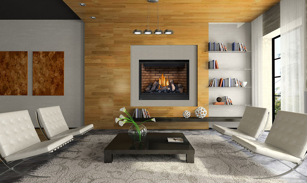 "Napoleon HD Series® 46"" Gas Fireplace HD46 - ExceptionalFire"