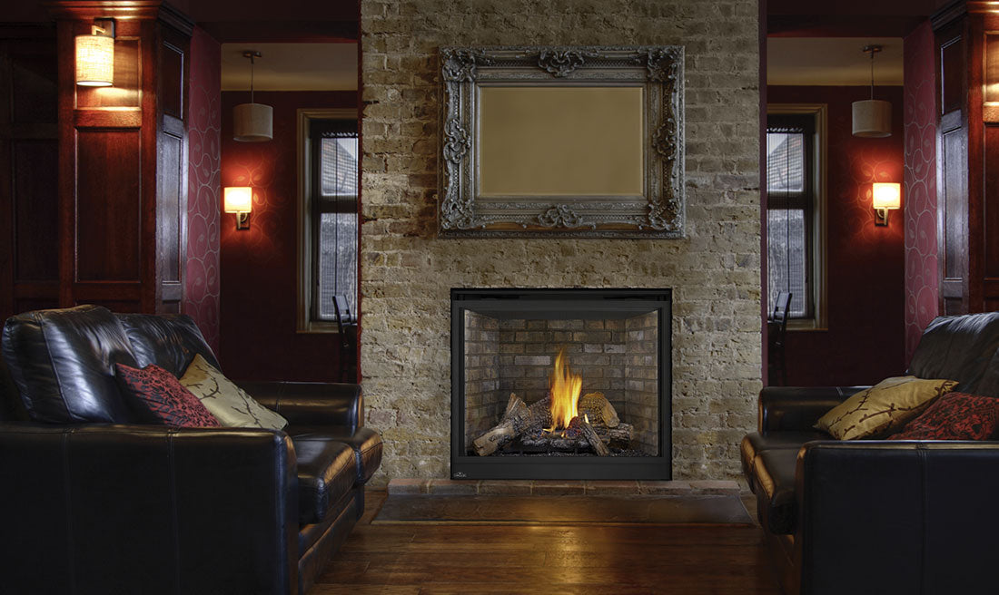"Napoleon HD Series® 40"" Gas Fireplace HDX40 - ExceptionalFire"