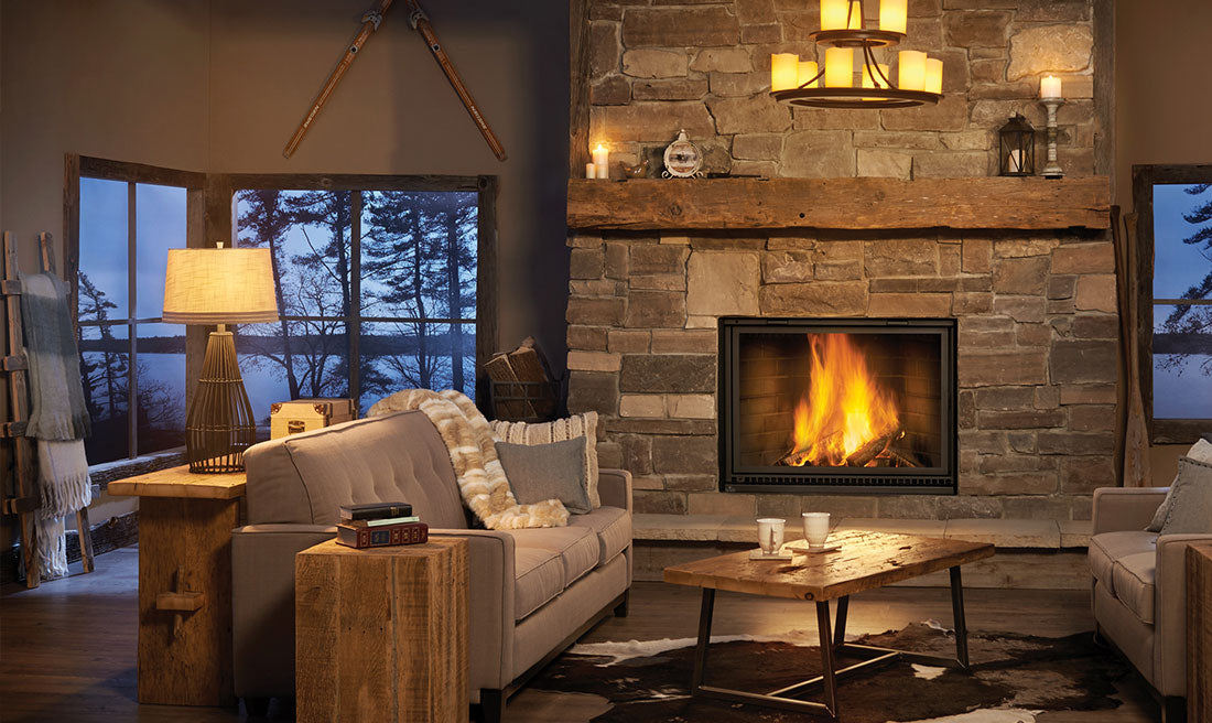 Napoleon High Country™ 8000 Wood Fireplace NZ8000 - ExceptionalFire