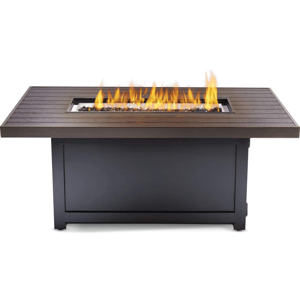 Napoleon Victorian Bronze Gas Fire Table, Rectangular VICT1-BZ - ExceptionalFire