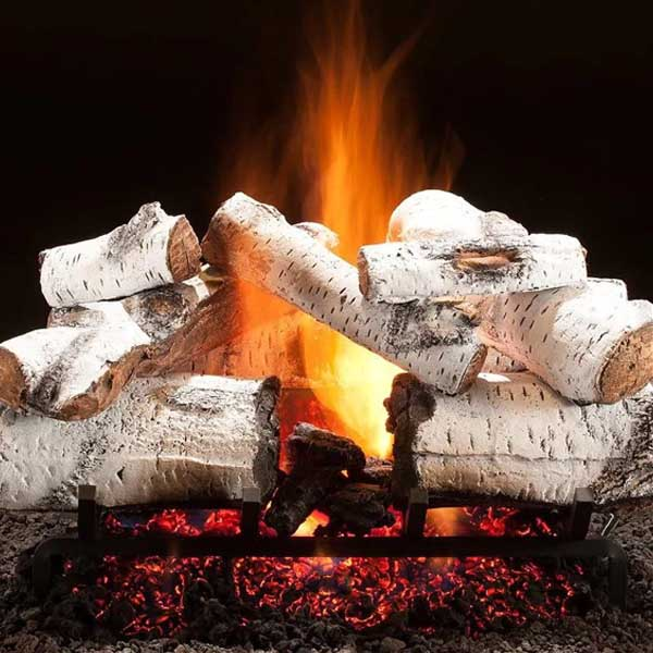"Hargrove Aspen Timbers Vented Gas Log Set / Sizes: 21"", 24"", 30"", 36"" - ExceptionalFire"
