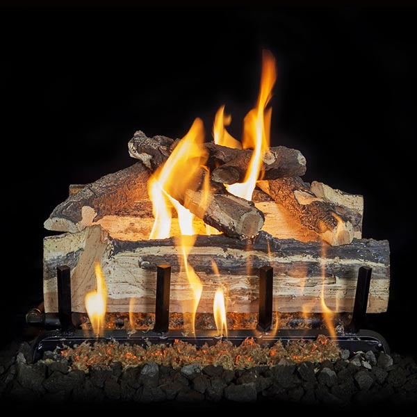 "Grand Canyon Blue Pine Split Vented Gas Log Set / Sizes: 18"", 24"", 30"" - ExceptionalFire"
