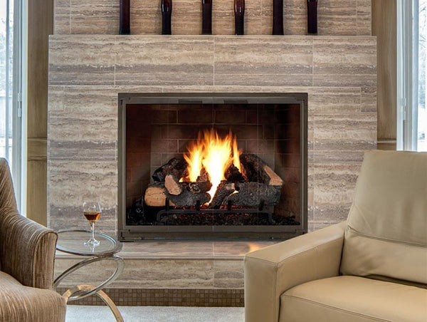 Steel Fireplace Glass Door Masonry & Zero Clearance - Legend Elite
