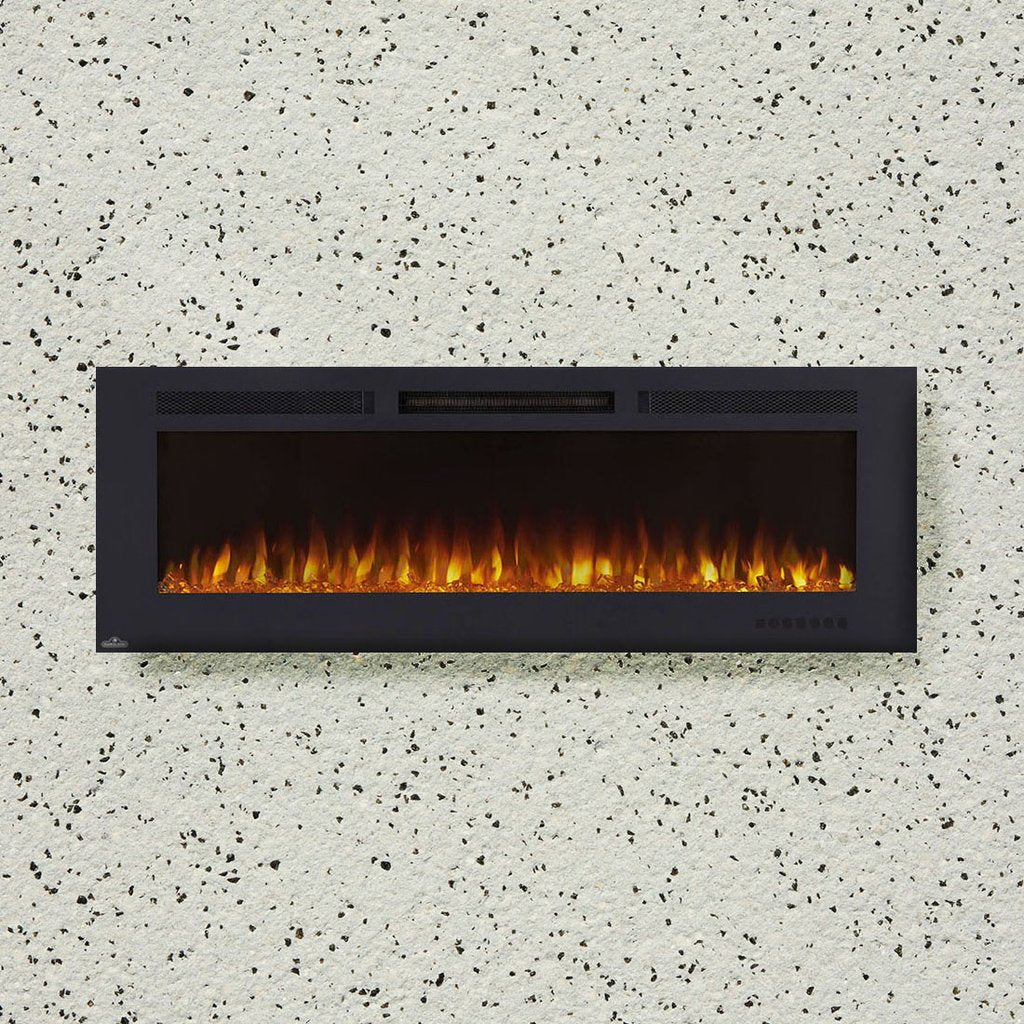 "Napoleon Allure Phantom™ 60"" Electric Fireplace - NEFL60FH-MT - ExceptionalFire"