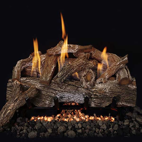 Grand Canyon Red Oak Vent Free Gas Log Set - ExceptionalFire