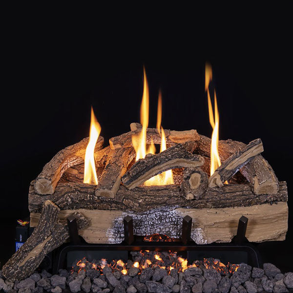 Grand Canyon Split Oak Vent Free Gas Log Set - ExceptionalFire