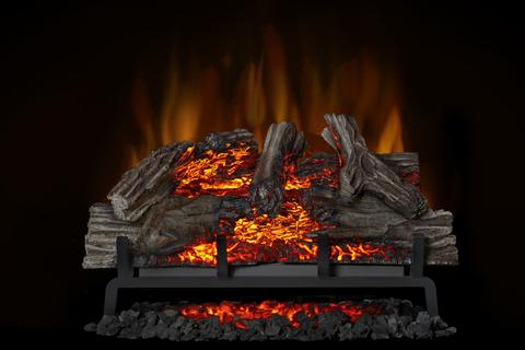 "Napoleon Woodland™ Log 27"" Electric Fireplace Inserts - NEFI27H - ExceptionalFire"